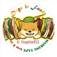3-DOGS-in-FOODS-原形贴纸文件